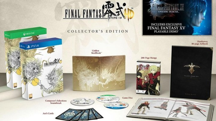 Final Fantasy TYPE-0 HD Collector's_Gampare