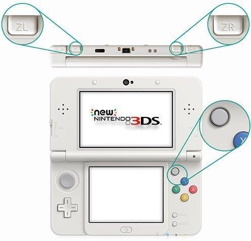 Tasti NEW Nintendo 3ds