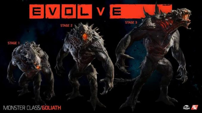 Evolve Goliath Gampare