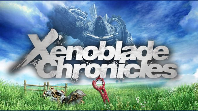 Xenoblade Chronicles 3D Logo Gamepare