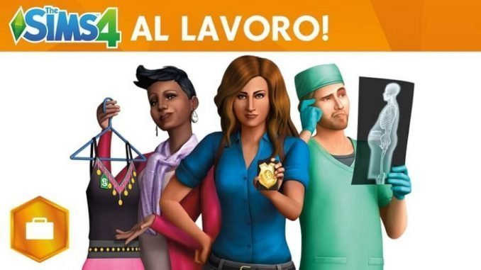 The Sims 4 Al Lavoro Gamepare