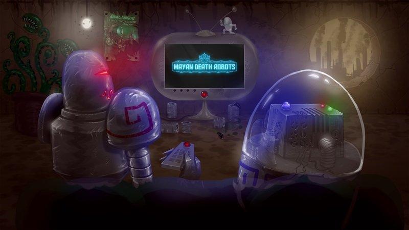 Mayan Death Robots logo2