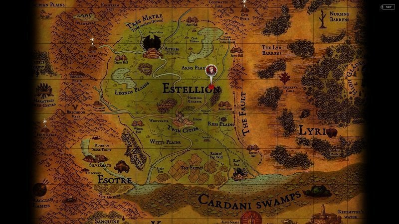 Ravenmark Scourge of Estellion_screen 2