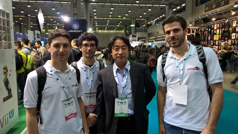 Nintendo Gamepare - Satoru Shibata