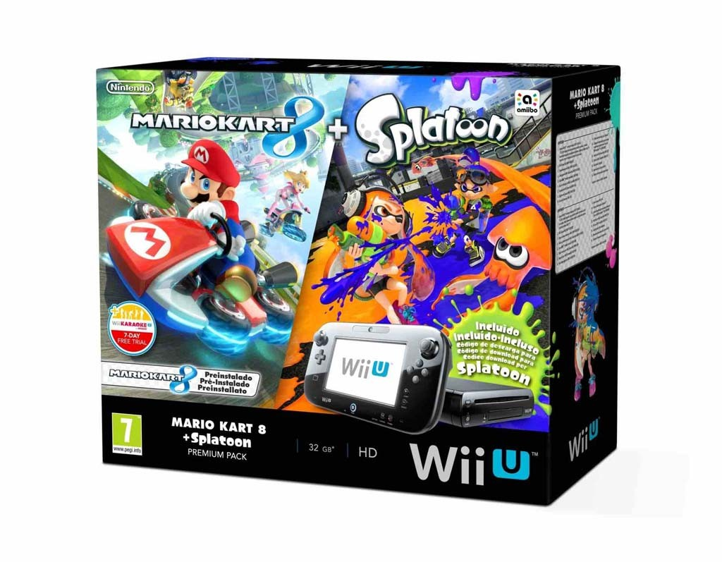 WiiU Splatoon e Mario