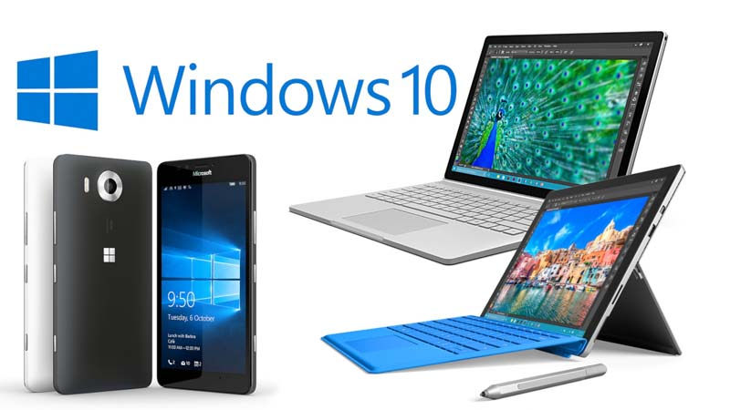Windows10 Surface 4 e Lumia 950