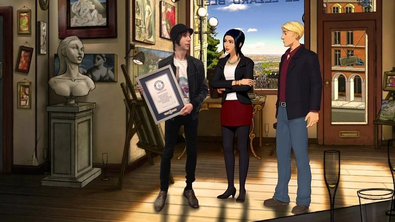 Broken Sword Guinness World Records