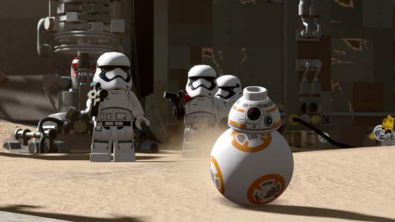 LEGO Star Wars il risveglio della forza screen1