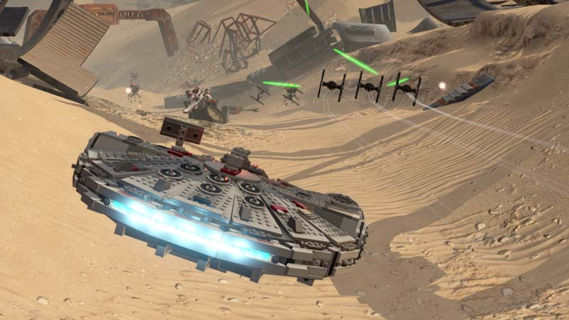 LEGO Star Wars il risveglio della forza screen3
