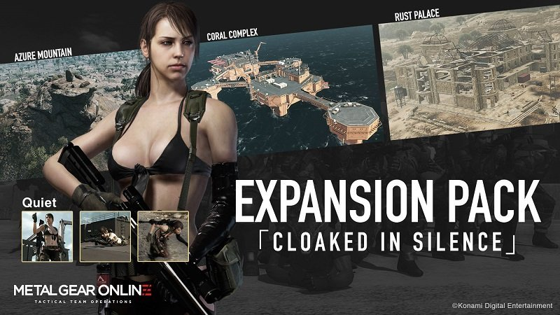 METAL GEAR ONLINE Cloaked in Silence