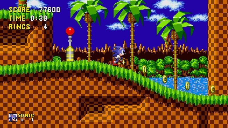 Sonic su Apple TV - Green_Hill