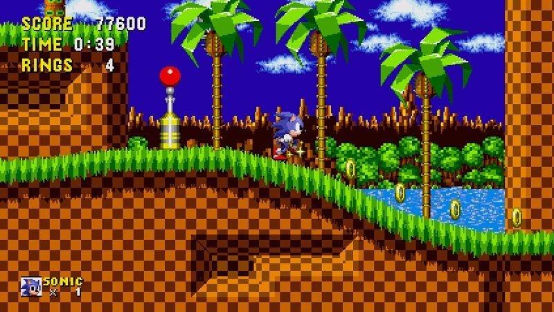 Sonic su Apple TV - Green_Hill