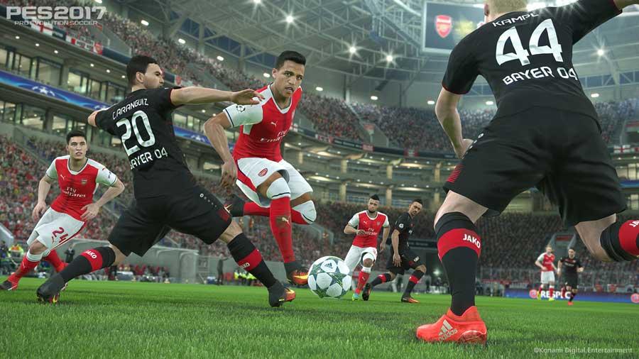 PES2017-UCL-Arsenal_v_Leverkusen