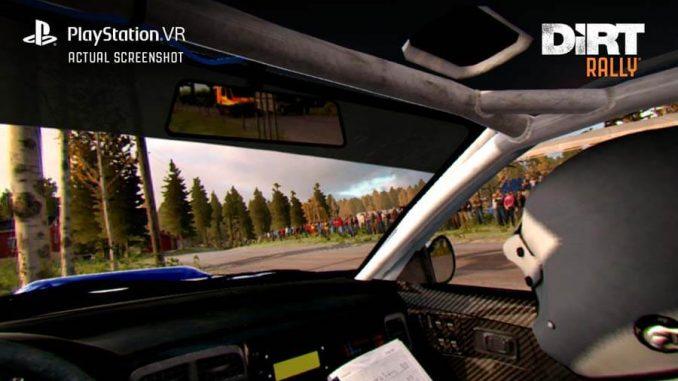 DiRT Rally PlayStation VR