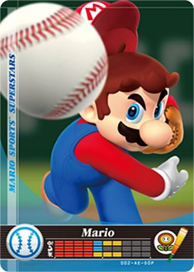 carte mario sports superstars