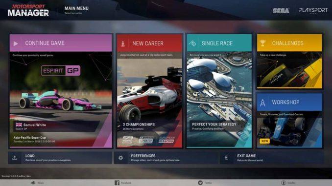 Motorsport Manager Steam Workshop