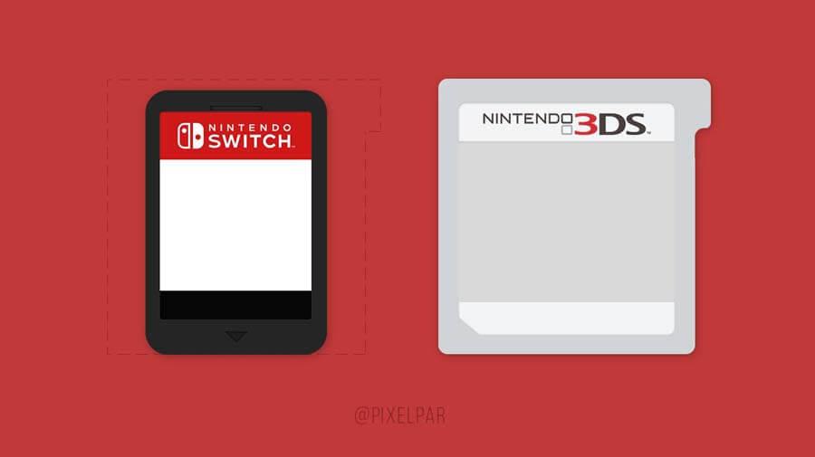 NitendoSwitchvsNintendo3ds Gamecard
