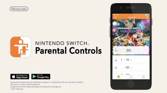 Parental Controls Nintendo Switch