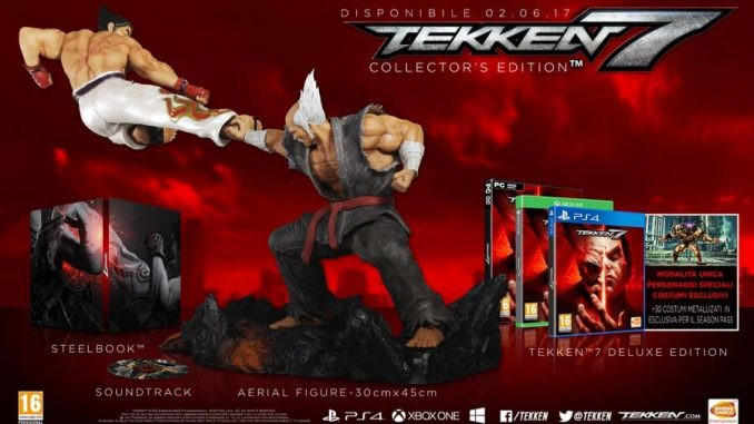 Tekken 7 BeautyShot Collector