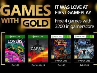 Xbox Live Games With Gold Febbraio 2017