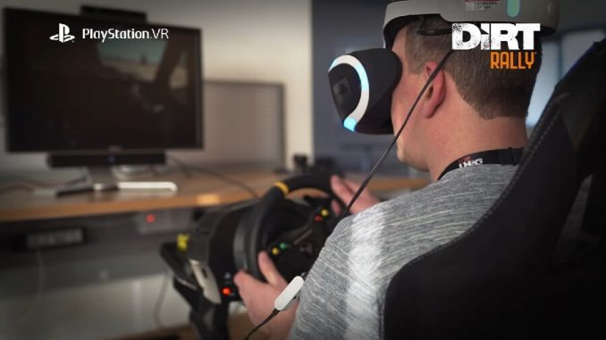 DiRT Rally PlayStation VR
