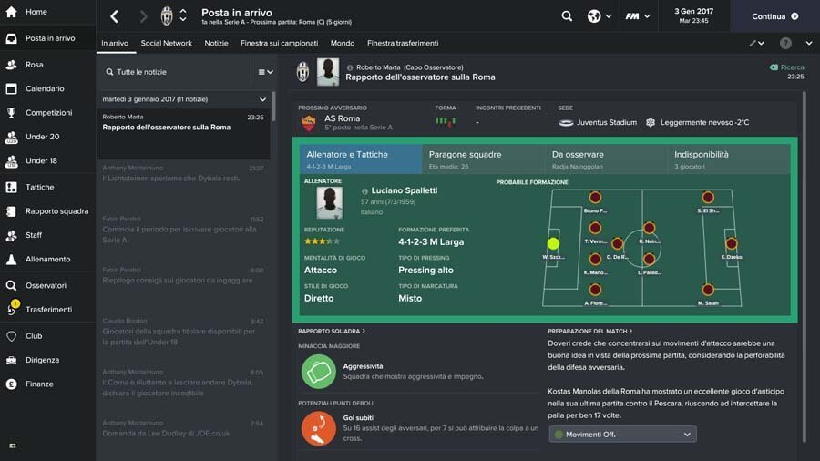 Football Manager 2017 screen 3