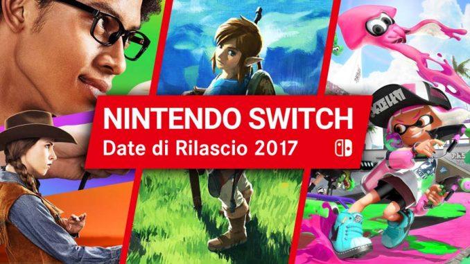 Nintendo Switch 2017 Guida