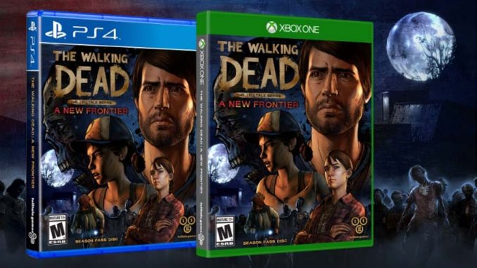 The Walking Dead A new frontier Disc
