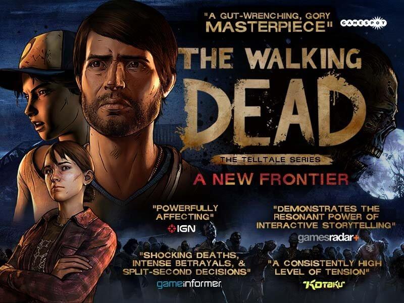 The Walking Dead A new frontier premiere