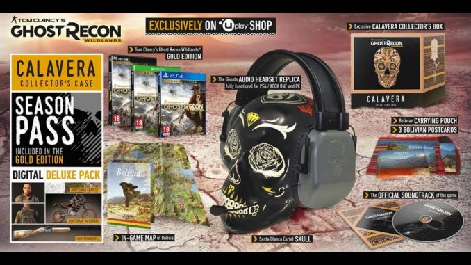 Ghost Recon Wildlands Calavera Collectors Case
