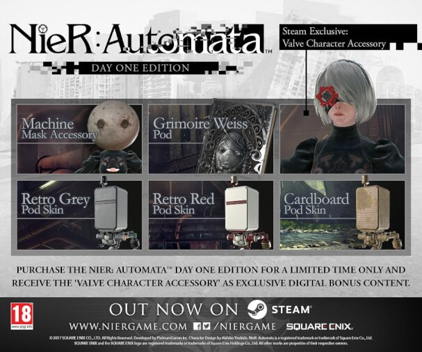 NieR Automata_Out Now PC