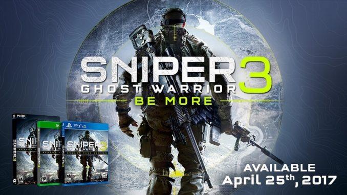 Sniper Ghost Warrior 3 Posticipato