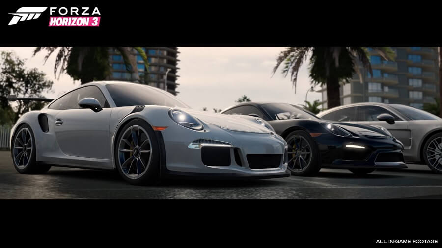 forza horizon 3 incontra il nuovo dlc porsche car pack gamepare. Black Bedroom Furniture Sets. Home Design Ideas