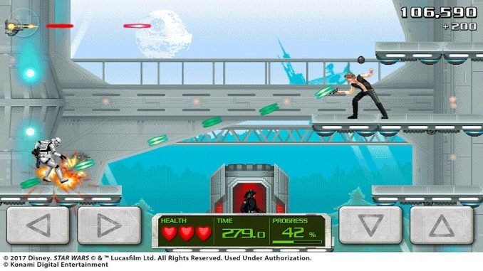 Mini-game Contra Star Wars