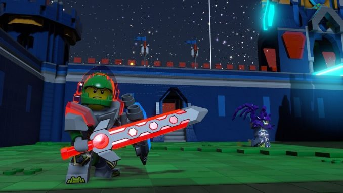 LEGO Worlds_Nexo Knights Aaron in Castle