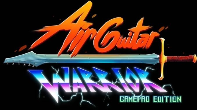 Air Guitar Warrior Gamepad Edition non solo giochi per kinect