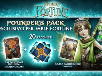 Fable Fortune al lancio acquistando il Founder's Pack
