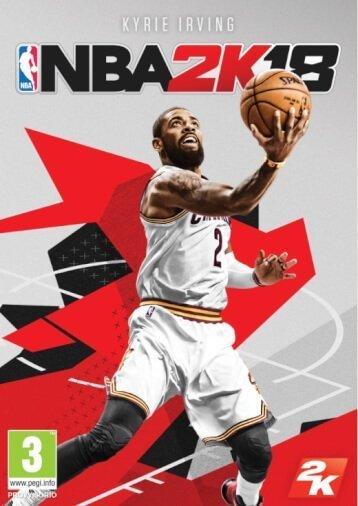 Kyrie Irving, come atleta di copertina di NBA 2K18