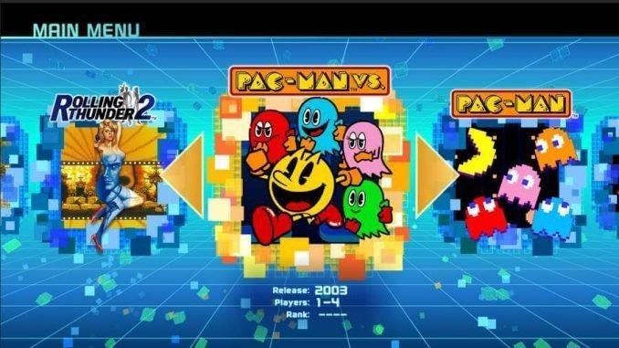 Namco-Museum-screenshot 1