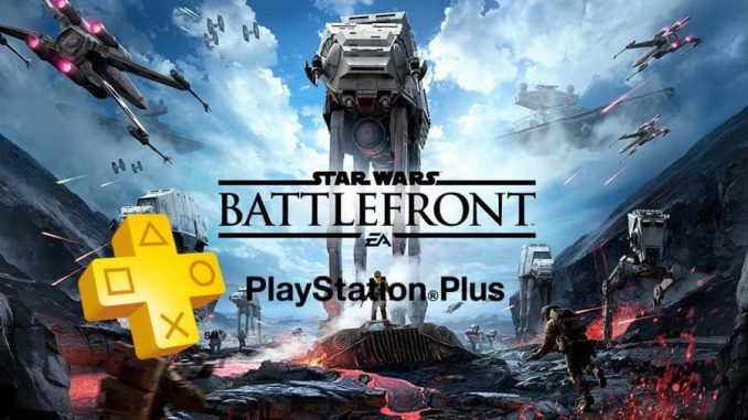 PlayStation Plus e STAR WARS Battlefront Ultimate Edition