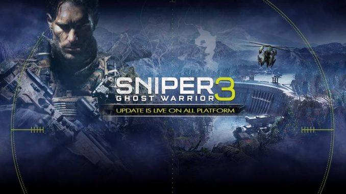 Sniper Ghost Warrior 3 aggiornamento