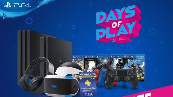 Sony PlayStation Days of Play