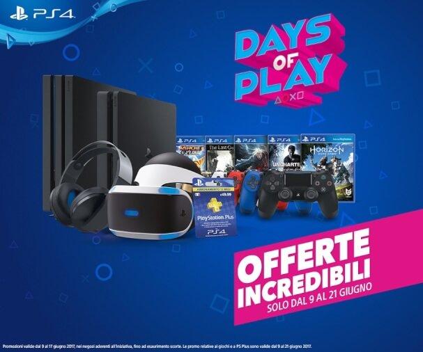 Sony PlayStation Days of Play 9 Giugno
