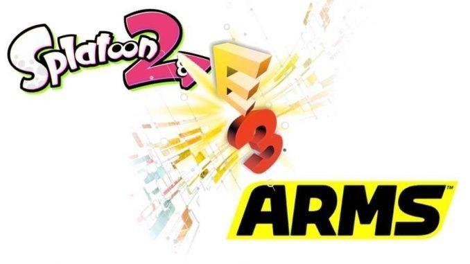 Splatoon2 - ARMS - eSports - E3 2017Splatoon2 - ARMS - eSports - E3 2017