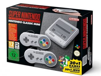 Super Nintendo Mini Scatola