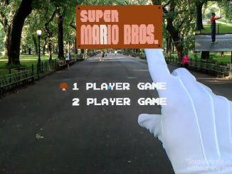 SuperMario-HoloLens