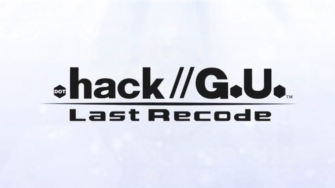 hack G.U. LAST RECODE