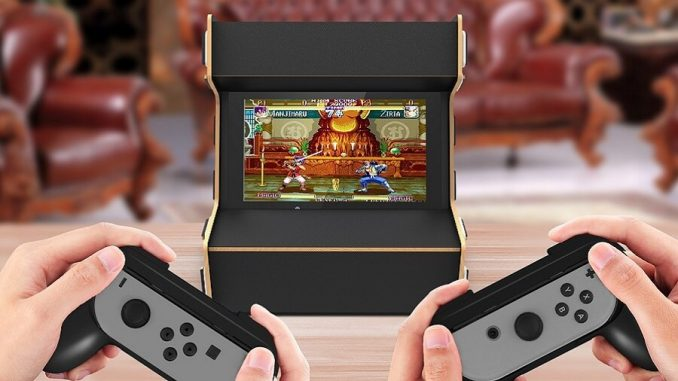 Cabinato Sala Giochi Nintendo Switch