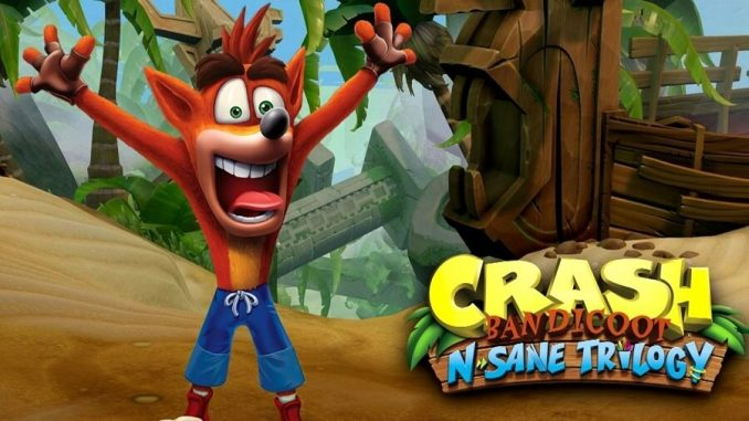 Crash Bandicoot N.Sane Trilogy Screen 0