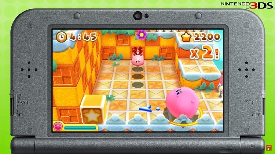 Kirby Blowout Blast - Screen1